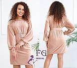 """Жіноче плаття з вельвету """"Monica"""", фото 9"""