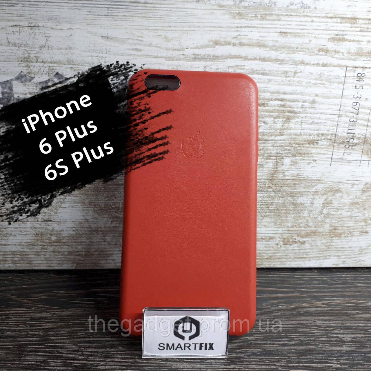 Силиконовый чехол под кожу для iPhone 6 Plus / 6S Plus Красный