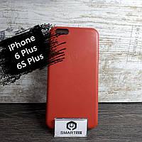 Силиконовый чехол под кожу для iPhone 6 Plus / 6S Plus Красный, фото 1