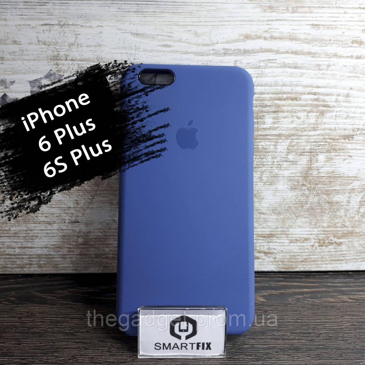 Силиконовый чехол для iPhone 6 Plus / 6S Plus Soft Синий