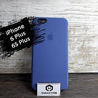 Силиконовый чехол для iPhone 6 Plus / 6S Plus Soft Синий, фото 1