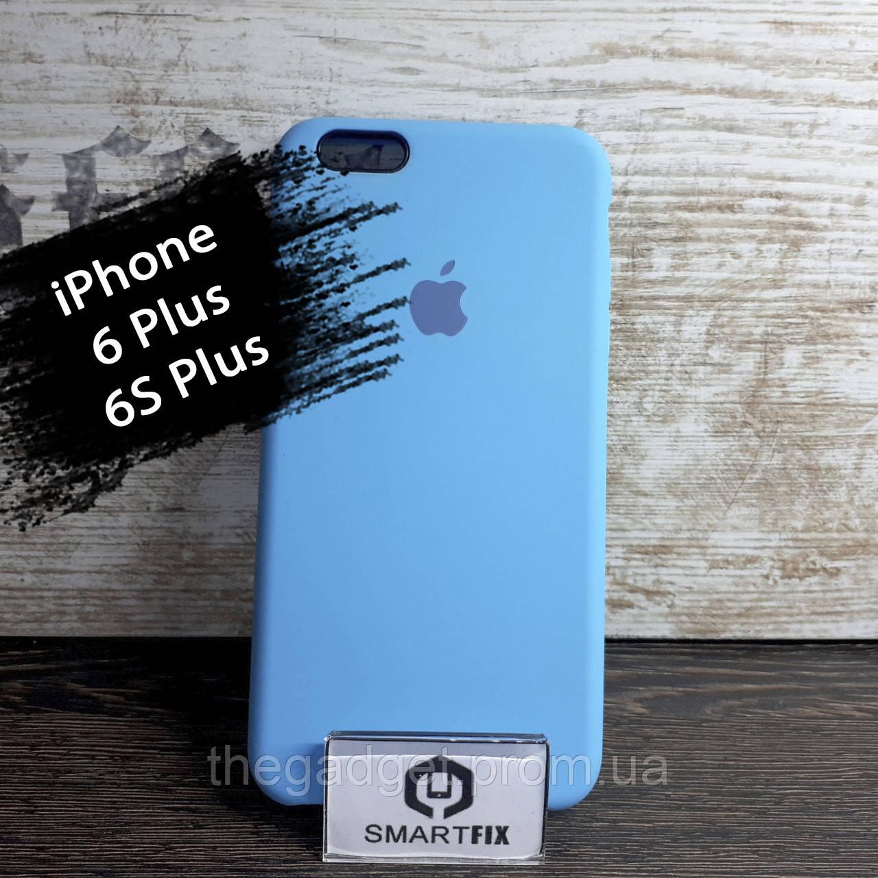 Силиконовый чехол для iPhone 6 Plus / 6S Plus Soft Голубой