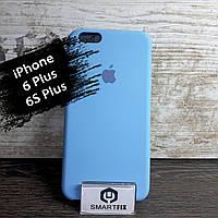 Силиконовый чехол для iPhone 6 Plus / 6S Plus Soft Голубой, фото 1