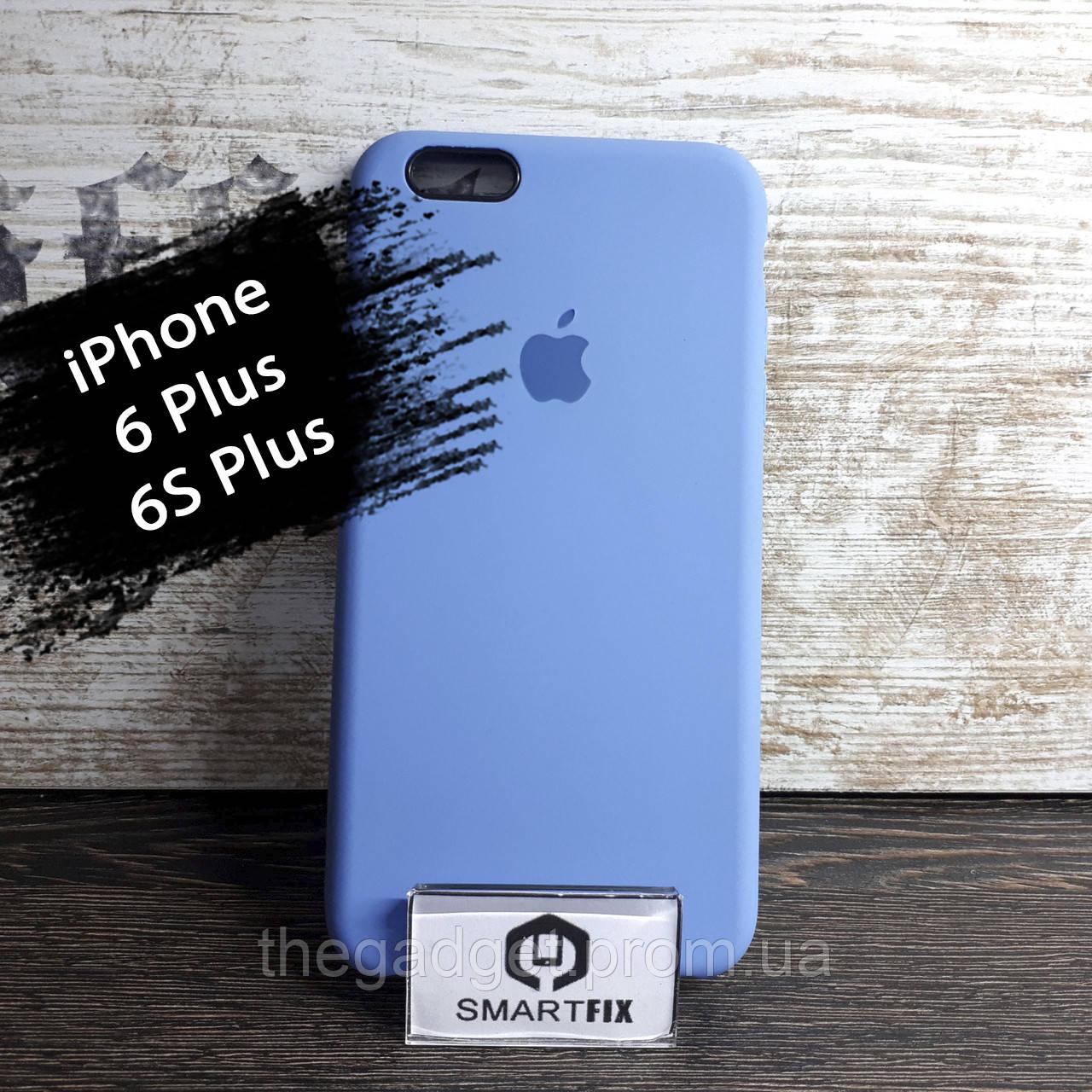 Силиконовый чехол для iPhone 6 Plus / 6S Plus Soft Бледно-синий