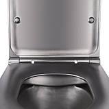Унитаз подвесной Q-tap Robin BLA 2196 безободковый, фото 5