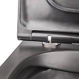 Унитаз подвесной Q-tap Robin BLA 2196 безободковый, фото 6