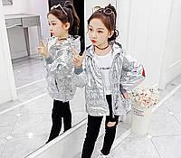 Детская куртка ветровка для девочек Calvin Klein