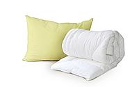 Одеяло евро Luxbaby Premium белое 210х240см + подушка 50х70 см в подарок