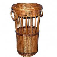Корзина для зонтов плетеная