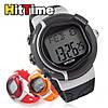 Часы электронные наручные пульсометр спортивный секундомер для бега