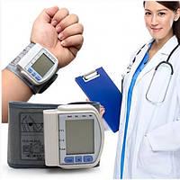 Тонометр Автоматический BPA SmartMed CK-102S на запастье для измерения давления и пульса