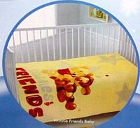 Детский плед 110х140 TAC  DISNEY  WINNIE FRIENDS BABY