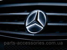 Mercedes C C-Class W205 LED светодиодная звезда эмблема в решетку радиатора новая оригинал
