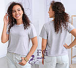 """Базовая женская футболка """"One color"""", фото 5"""