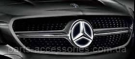 Mercedes GLA X156 LED светодиодная звезда эмблема в решетку радиатора новая оригинал