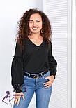 """Блуза з об'ємним рукавом """"Adel"""", фото 3"""