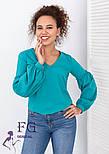 """Блуза з об'ємним рукавом """"Adel"""", фото 4"""