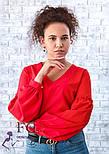 """Блуза з об'ємним рукавом """"Adel"""", фото 5"""