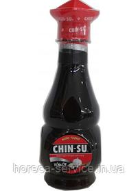 Соевый соус с чесноком и перцем Chin-su 275 мл.