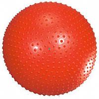 Мяч для фитнеса (фитбол) массажный 65 см + насос FB29324 Joerex