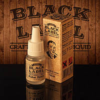 Жидкость для электронной сигареты Black Label ( ежевика с ягодным послевкусием ).