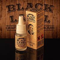 Жидкость для электронной сигареты Black Label ( калифорнийский бренди ).