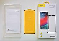 Защитное стекло Baseus 3D Apple Iphone X/Xs/11pro  (Black), фото 1