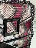 Женская сумка с тиснением рептилия код 7-5922, фото 3