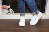 Кроссовки белые женские Т1136, фото 5