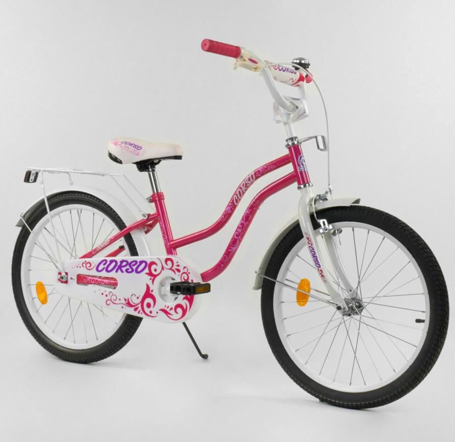 """Велосипед 20"""" дюймов 2-х колёсный """"CORSO"""" Т-08209 Гарантия качества Быстрая доставка"""