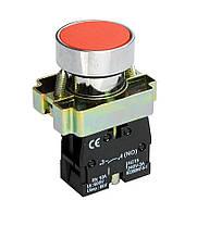 Кнопка XB2-BA42 1NO без підсвічування червоний TechnoSystems TNSy5500275
