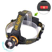 Ліхтарик налобний Bailong Police BL-6813B-T6