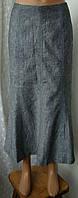 Юбка женская лен хлопок макси бренд CC р.46 3868