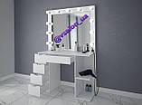 Стіл з дзеркалом для макіяжу V558, фото 2