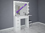 Стіл з дзеркалом для макіяжу V558, фото 3