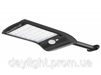Светильник светодиодный Luxel 18W IP64 на солнечных батареях с датчиком движения