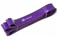 Резиновая петля для подтягиваний и фитнеса U-Powex Фиолетовая 16-42 kg
