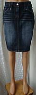 Юбка женская модная джинс по колено р.42 3875а от Chek-Anka, фото 1