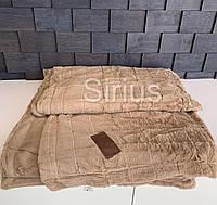 Плед Шиншилла 160х210   Покрывало мягкое   Теплый плед   Пушистое покрывало на кровать