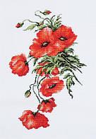 """Набор для вышивания крестом """"Luca-s"""" B2236 Маки"""