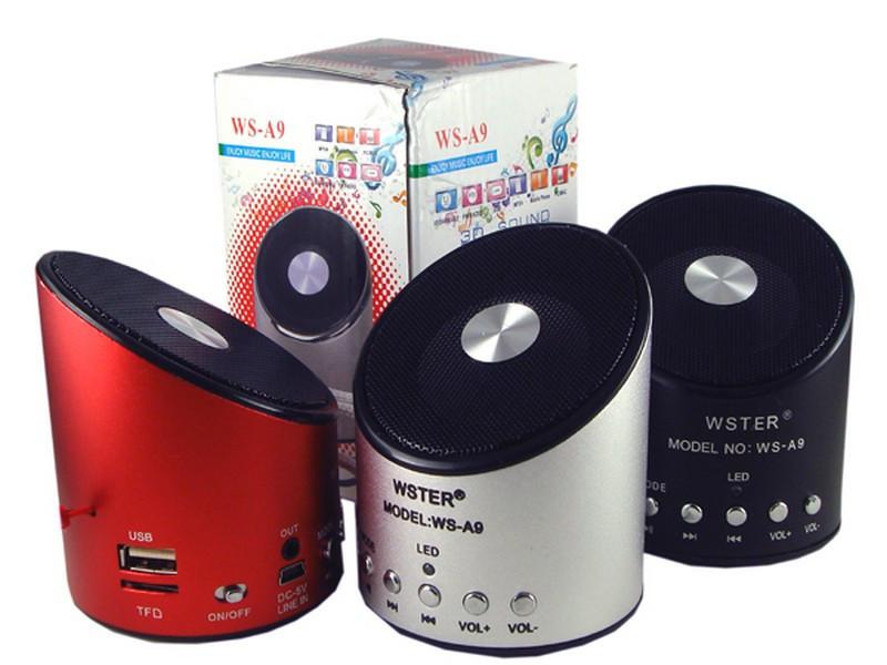 Портативна колонка FM USB Wster WS A9