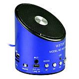 Портативна колонка FM USB Wster WS A9, фото 4