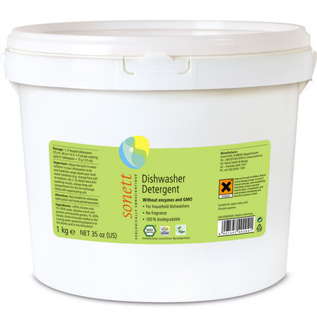Sonett органический порошок для посудомоечных машин, 1 кг. Концентрат.