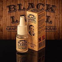 Жидкость для электронной сигареты Black Label ( со вкусом спелой дыни и мятным послевкусием ).