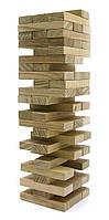 """Игра настольная """"Дженга"""", массив дерева (54 бруска)(25х7х7 см) ( 29153)"""