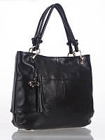 Женская сумка кожаная черная L-A8915-2