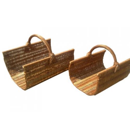 Набор для камина. Корзины для дров. (2 шт)
