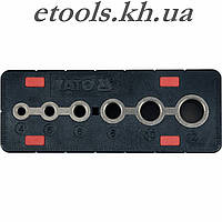 Кондуктор для сверления отверстий 4, 5, 6, 8, 10, 12мм  Yato