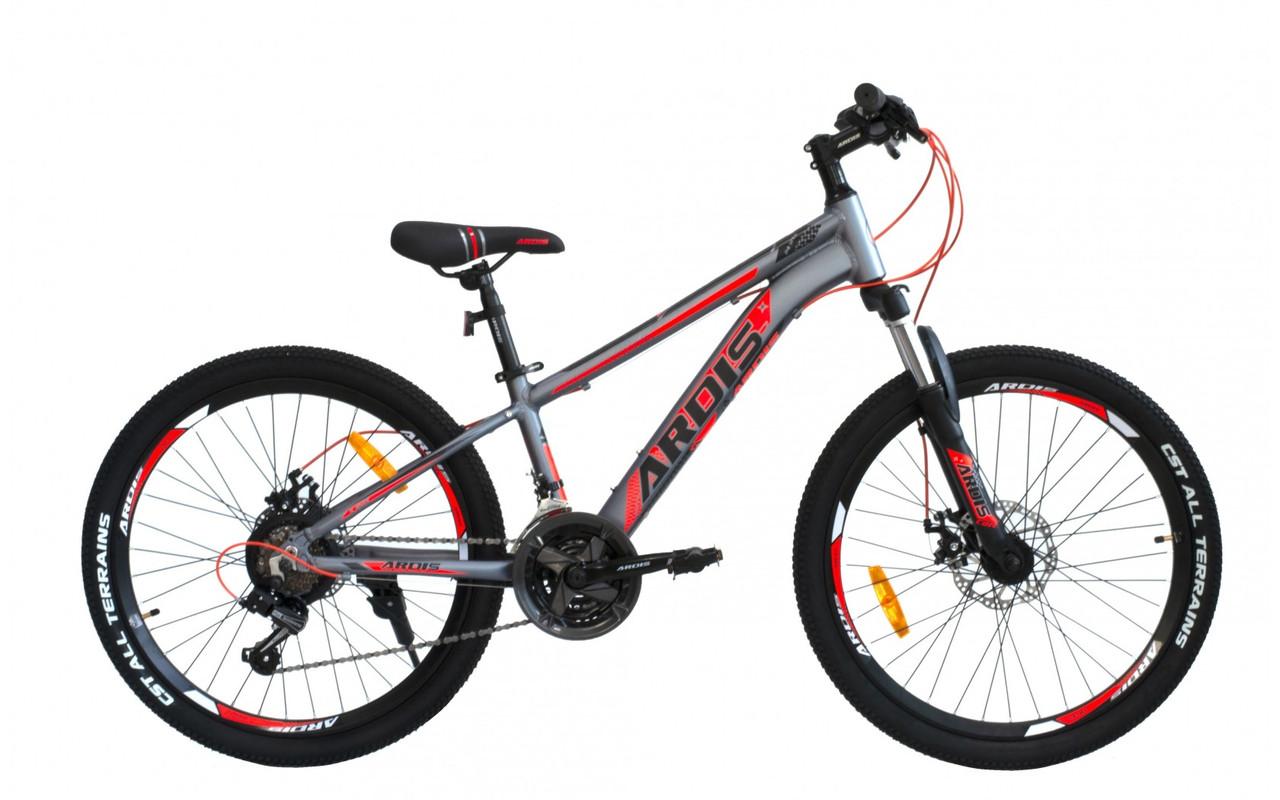 """Велосипед ARDIS COLT 24"""" MTB AL Сірий"""