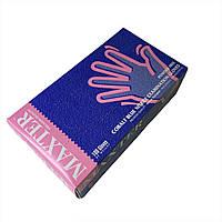 Перчатки нитриловые 100 шт MAXTER L (Малайзия)
